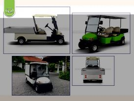 Xe điện chở hàng Tùng Lâm - Dòng xe