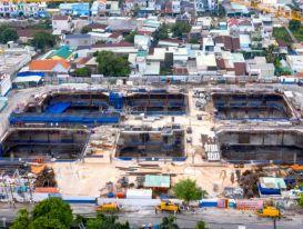 Xây dựng chung cư trong mùa dịch phải bố trí cho công nhân ăn ngủ tại chỗ