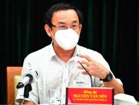 Bí thư TPHCM Nguyễn Văn Nên: Đủ điều kiện mới nới rộng giải pháp phòng chống dịch