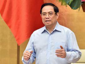 Thủ tướng: Đáng lo ngại khi nhiều vùng ở Kiên Giang, Tiền Giang đang 'xanh', thành 'đỏ'