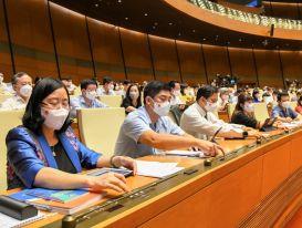 Quốc hội đồng ý Chính phủ nhiệm kỳ mới có 27 thành viên, giảm một Phó Thủ tướng