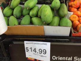 Xoài xanh Việt Nam sang Úc bán gần 300.000 đồng/kg