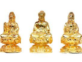 4 mẫu tượng Phật mini bằng đồng đẹp tinh xảo, đáng tiền nhất