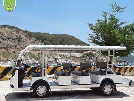 Xe điện trong khu du lịch - Sự đầu tư sáng suốt cho các đơn vị kinh doanh
