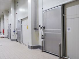 Tầm quan trọng của cửa kho lạnh với các nhà máy, khu chế xuất