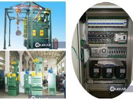 3 loại máy phun bi làm sạch bề mặt kim loại được sử dụng phổ biến trong gia công