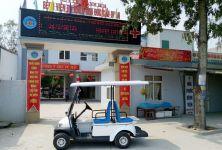 Xe ô tô điện được sử dụng phổ biến trong bệnh viện