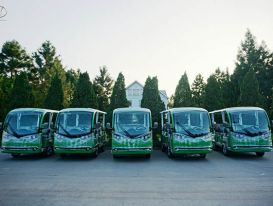 Xe điện thương hiệu Việt được tin tưởng đầu tư tại các khu du lịch