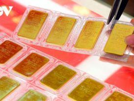 Giá vàng thế giới tiếp tục suy giảm