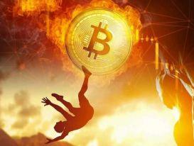 Vừa điên cuồng phá đỉnh hơn 59.000 USD, giá Bitcoin lại trượt sâu