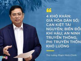 Quan điểm phát triển của Thủ tướng Phạm Minh Chính