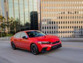 Honda Civic 2022 ra mắt, trang bị công nghệ hỗ trợ lái tiên tiến