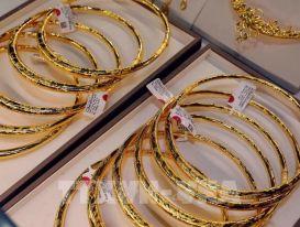 Giá vàng sáng 21/6 giao dịch quanh mức 56,8 triệu đồng/lượng
