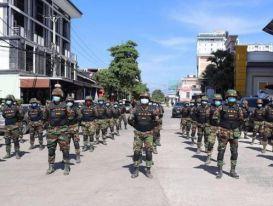 Campuchia triển khai quân dọc biên giới với Thái Lan phòng Covid-19