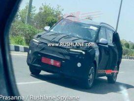 Lộ ảnh chạy thử mẫu MPV mới của Kia