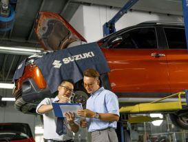 Suzuki Việt Nam gia tăng thời gian bảo hành cho xe chạy xăng