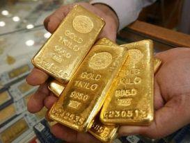Giá vàng bật tăng mạnh, áp sát mốc 1900 USD/ounce