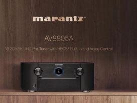 Marantz AV8805A - Pre Processor 8K 13.2 kênh balance, dành cho rạp hát tại gia cỡ lớn