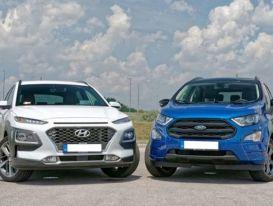 Hyundai Kona, Ford EcoSport 'chạy đua' giảm giá