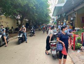 Chợ 'cóc' hoạt động tại Khu đô thị Linh Đàm: Bất cập từ quy hoạch đô thị