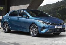 Kia Cerato facelift 2021 chính thức lộ diện