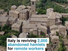 Kế hoạch tỷ euro để hồi sinh những ngôi làng 'ma' ở Italy