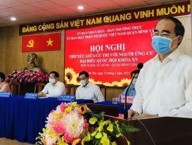 Ông Nguyễn Thiện Nhân mong muốn tiếp tục phục vụ cho TP HCM, cho đất nước