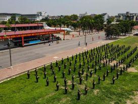 Chi viện hơn 200 cảnh sát lên Bắc Giang chống dịch