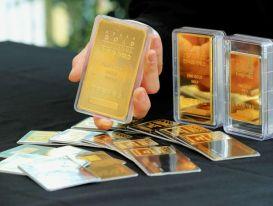 Giá vàng thế giới tiếp tục giảm trong phiên 24/11