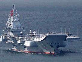 Tàu sân bay và 5 tàu chiến Trung Quốc đi qua vùng biển Nhật Bản