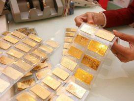 Giá vàng giảm tiếp 150.000 đồng mỗi lượng