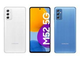 Galaxy M52 5G ra mắt, giá 9,22 triệu đồng