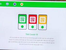 Các thẻ màu xanh, vàng, đỏ trên app PC-COVID có tác dụng gì?