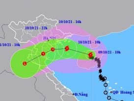 Bão Kompasu tiến vào Biển Đông, nhiều khu vực mưa to đến rất to