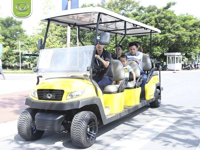 Xe điện phục vụ du lịch